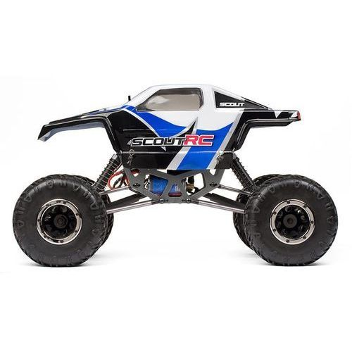 Mv Painted scout rc bodyshell blue w/decals