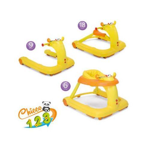 Chicco  chodzik pchacz 3w1 orange 0407941542 (8058664038138)