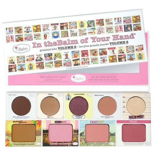 Thebalm in thebalm of your hand vol.2 | paleta do makijażu
