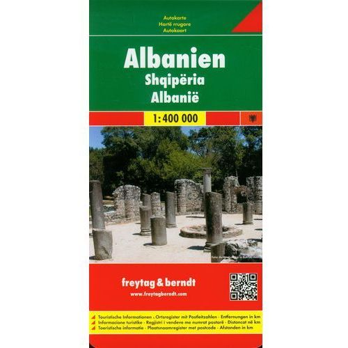 Albania Mapa Drogowa 1:400 000