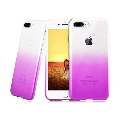 Etui Alogy ombre case Apple iPhone 7 Plus / 8 Plus Fioletowe - Fioletowy, kolor fioletowy