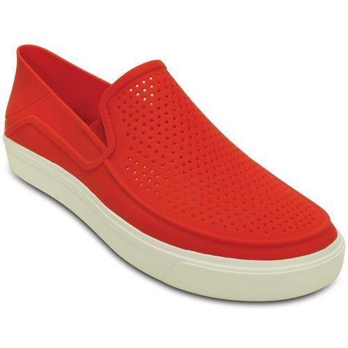 Crocs buty CitiLane Roka Slip-On M Flame/White 43-44 (M10)