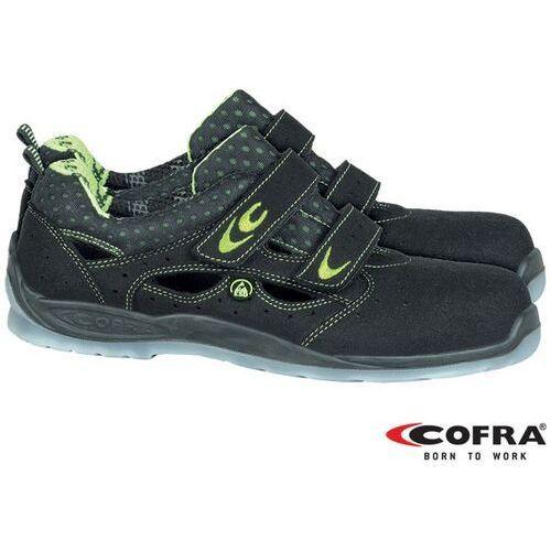 Sandały bezpieczne ze stalowym podnoskiem BRC-RIEMANN