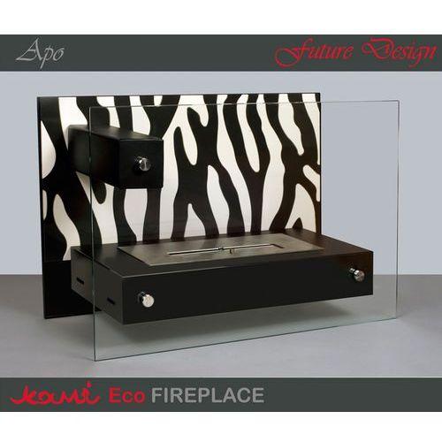 Biokominek Apo Zebra Black by , Kami z ExitoDesign