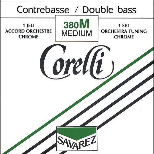 (642170) corelli struna do kontrabasu (orkiestrowe) - g (4/4 i 3/4) średni - 381m marki Savarez