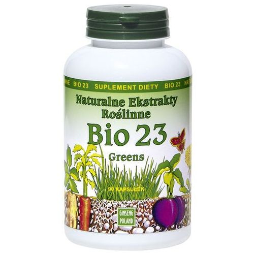 Ginseng polska Bio 23 greens 90kaps - naturalne ekstrakty roślinne