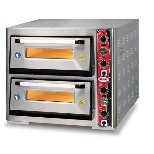 Piec do pizzy głębszy, podwójny CLASSIC PF 6292 DE firmy GMG - z termometrem.