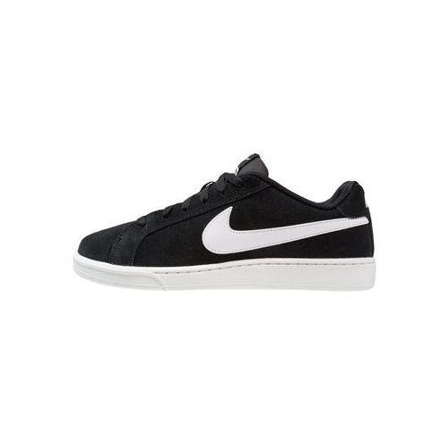 Nike Sportswear COURT ROYALE SUEDE Tenisówki i Trampki black/white, kolor czarny