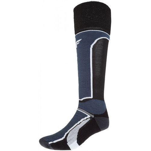 Skarpety narciarskie męskie SOMN251z - czarny, kolor czarny