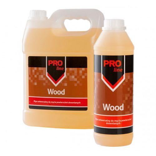 Pro-line wood 1l płyn do mycia powierzchni drewnianych marki S-line