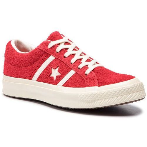 Converse Sneakersy - one star academy ox 163270c enamel red/egret/egret
