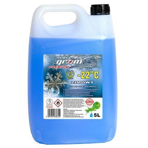 Zimowy płyn do spryskiwaczy 5L -22°C GROM Premium