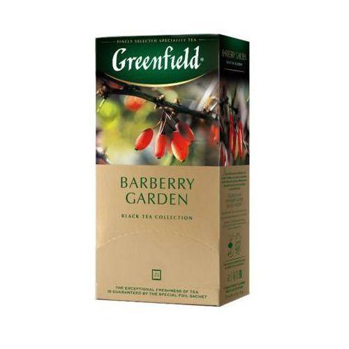 GREENFIELD 25x1,5g Barberry Garden Herbata czarna Ekspresowa