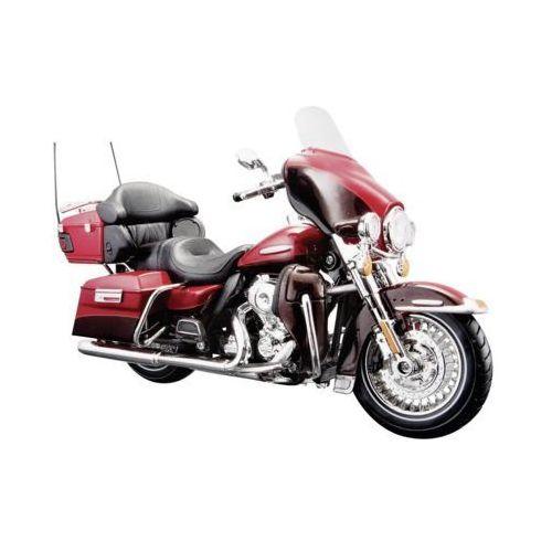 Maisto Motocykl harley davidson electra glide ultra czerwony mi 32323 (0090159095538)