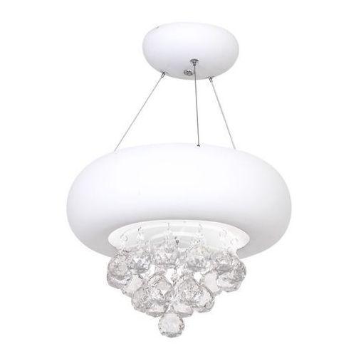 Milagro Lux bianco lampa wisząca led 18w (5907377248606)