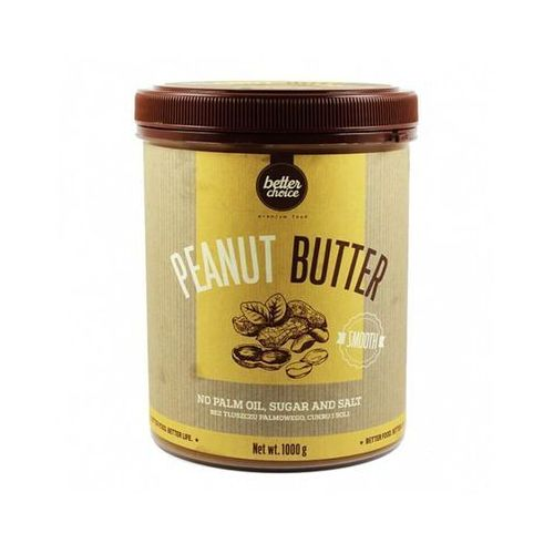 Better choice peanut butter smooth 500g marki Trec nutrition