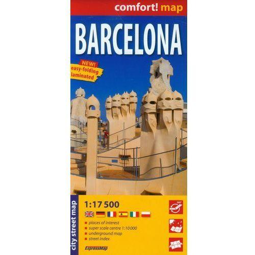 Barcelona mapa laminowana 1:17 5000 Expressmap (264 str.)