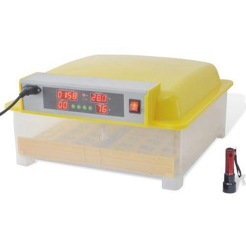 Vidaxl  automatyczny inkubator do jajek / wylęgarka na 48 jaj (8718475935506)