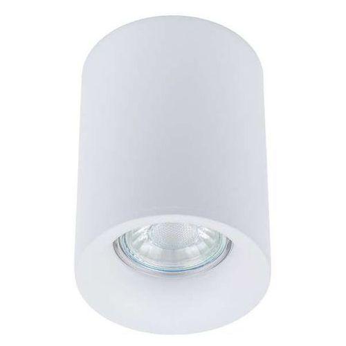 Plafon Italux Flynn TM09080-WH lampa sufitowa oprawa spot 1x50W GU10/ 1x4W LED biały (5900644337416)