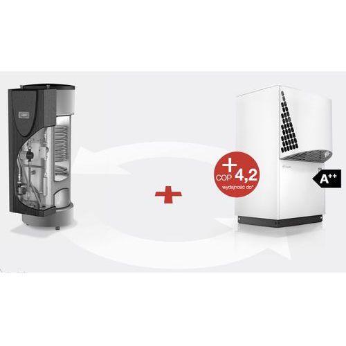 Pakiet pompa ciepła powietrze - woda prestige la 6tu - wcenie 5 lat gwarancji - nowość 2015 wyprodukowany przez Dimplex