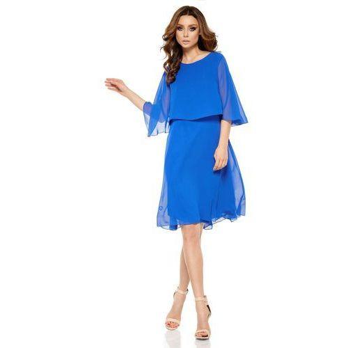 Lemoniade Chabrowa elegancka wieczorowa sukienka z narzutką
