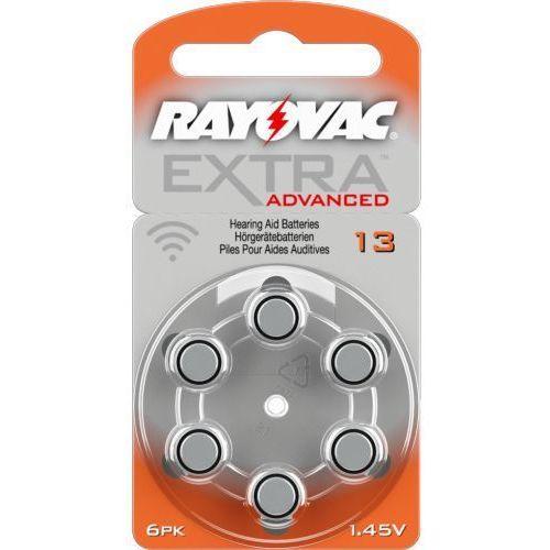 Rayovac 6 x baterie do aparatów słuchowych extra advanced 13 mf