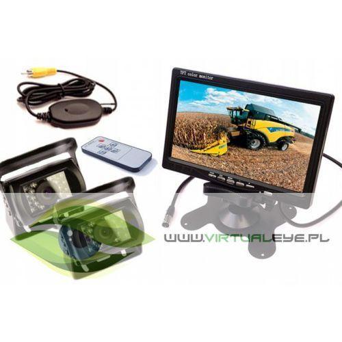 Bezprzewodowy zestaw 2x kamera cofania + monitor marki Virtualeye