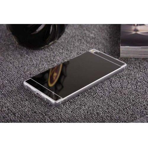 Slim Mirror Case Czarny   Etui dla Huawei P8 Lite - Czarny