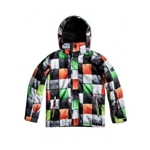 Kurtka snowboardowa Quiksilver Mission 243 checkgreen rede 2013/14 kids - produkt z kategorii- kurtki dla dzieci