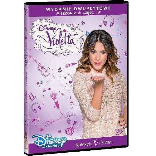 Violetta. sezon 2. część 1 (2 dvd) (płyta dvd) marki Galapagos