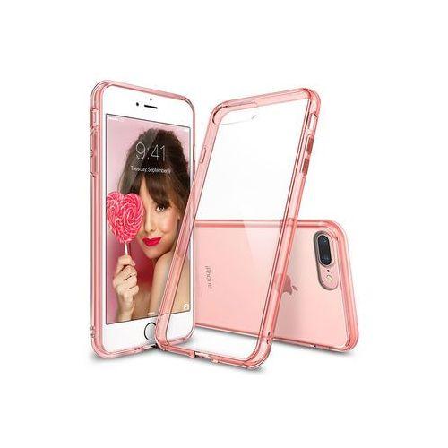 Apple iPhone 7 Plus - etui na telefon Ringke Fusion - różowy, ETAP417RGFUPIK000
