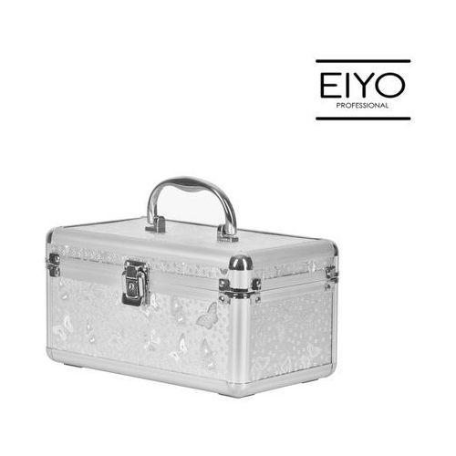 Kuferek kosmetyczny MOTYLEK srebrny – Neonail (5903274009968)