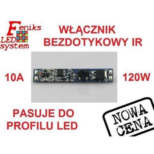 WŁĄCZNIK BEZDOTYKOWY ON/OFF ZE ŚCIEMNIACZEM PROFIL LED, FLS00274