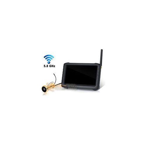 Wizjer do drzwi bezprzewodowa kamera cyfrowa ekran 5.0'' LCD (detekcja ruchu), FADD-64061