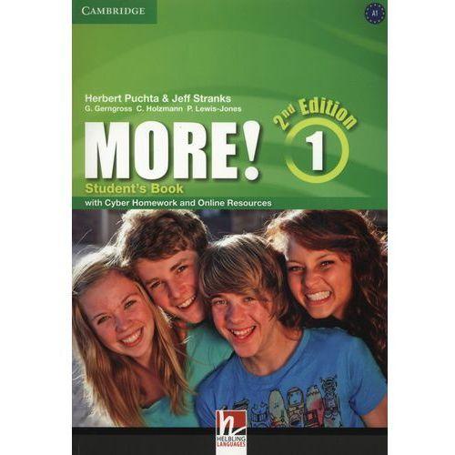 More! 1 Second Edition. Podręcznik + Cyber Homework + Online Resources (144 str.)