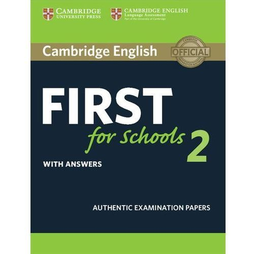 Cambridge English First for Schools 2 Student's Book with answers (9781316503485)