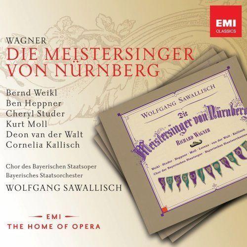 Empik.com Die meistersinger - wolfgang sawallisch (płyta cd)