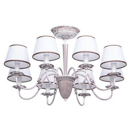Tradycyjny piękny żyrandol sufitowy na 8 żarówek elegance (419011108) marki Mw-light
