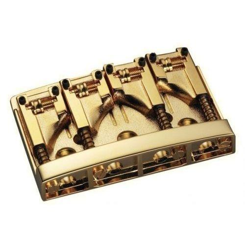 Schaller (SC550116) Mostek do gitary basowej 3D-4 4-strunowy złoty