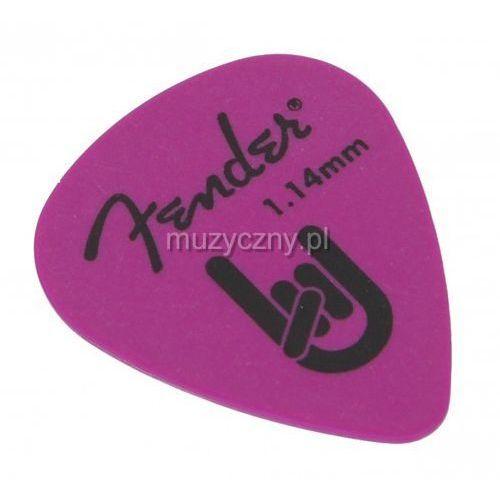 Fender delrin 1.14 purple kostka gitarowa