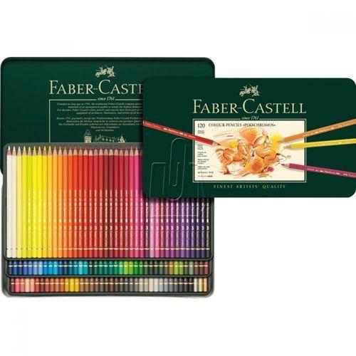 Kredki Polychromos Faber-Castell 120 kol. 110011 + gratis kredki Polychromos 24 kol. - wysyłka 24H, PRODUKT ORYGINALNY