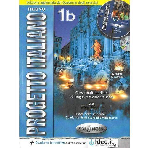 Nuovo Progetto Italiano 1B podręcznik /CD gratis/ (208 str.)
