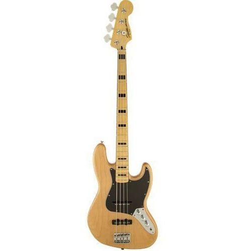 Fender squier vintage modified jazz bass ′70s natural gitara basowa