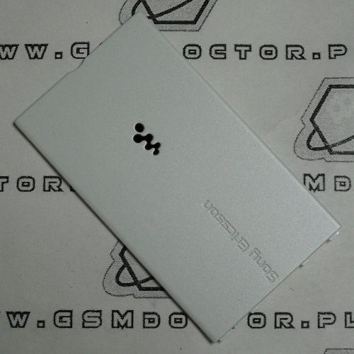 Obudowa w350i tylna / pokrywa baterii biała marki Sony ericsson