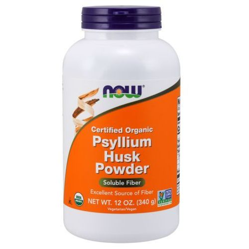 NOW FOODS Whole Psyllium Husks Powder (Błonnik) - 340 gram