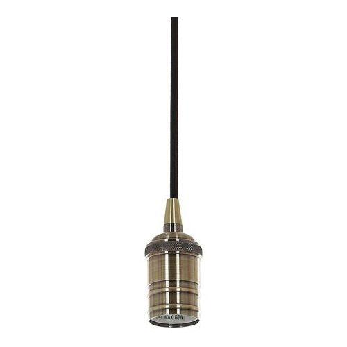 Lampa wisząca Italux Atrium DS-M-036 ANTIQUE BRASS zwis oprawa 1x60W E27 antyczny brąz
