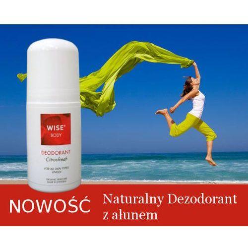 Naturalny dezodorant ałun, aloe vera, litsea cubeba wise 60ml marki Wise naturkosmetik