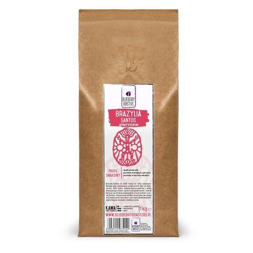 Kawa mielona brazylia santos 1kg - mielona \ 1kg marki Blueberry roasters