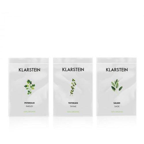 Klarstein growlt seeds europe | 3 paczki nasion: tymianek / szałwia / pietruszka (4060656153921)