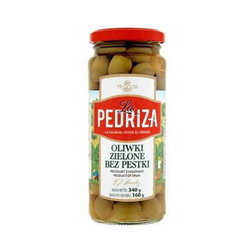 340g oliwki zielone bez pestek marki La pedriza